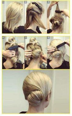 #BellezaTip: ¿Ya tienes planeado tu peinado para mañana? Esta es una excelente opción apta para lucir en cualquier lugar.