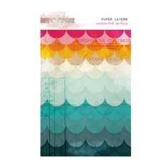 Glitz Design - Unchartered Waters Collection - Paper Layers