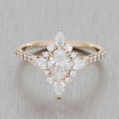Durham Rose Engagement Ring - Cosmopolitan.com #engagementrings