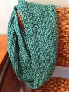Ravelry: Project Gallery for Pumpkin Infinity Scarf pattern by Dandelion Daze I must learn to crochet!