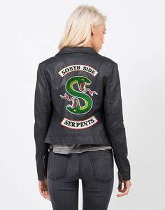 A totes perf South Side Serpents patch for your jacket.