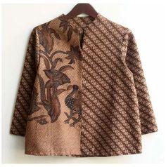 Batik Fashion, Ethnic Fashion, African Fashion, Batik Kebaya, Batik Dress, Blouse Dress, Blouse Batik Modern, Smart Dress, Blouse Models