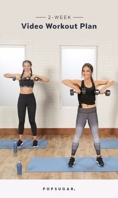Commit to Getting Fit With This 2-Week Video Workout Plan