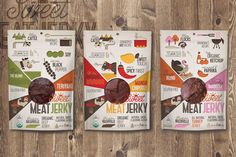 Sweet Meat Jerky on Packaging of the World - Creative Package Design Gallery