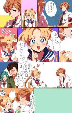 Sailor moon fan comic