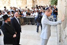 Prince William, Duke of Cambridge visits the Western Wall, Judaism's. Prince William And Kate, William Kate, Prince Of Wales, Old City Jerusalem, Jerusalem Israel, Greek Royal Family, Royal Diary, Western Wall, Duke Of Cambridge