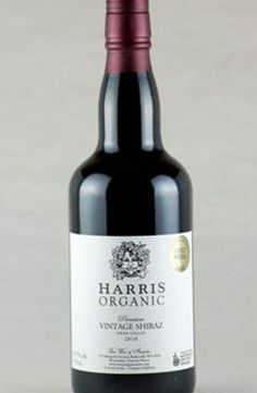 Liqueur Shiraz - Gold Medal - Harris Organic Wines. This unique organic fortified wine has a delightful rich red colour with a nose of fruit cake and currants, followed by a smooth palate of chocolate, a touch of liquorice and plums. #HarrisOrganicWines #FarmhouseAU #drinks #wine #liqueur #Shiraz #beverage #chocolate #plum #liquorice