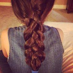 Hair style/ five Strand Braid