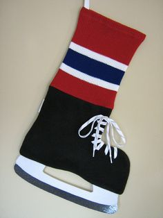 Montreal Canadiens Hockey Inspired Christmas by HockeyStockings, $39.00