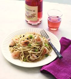 Linguine with Shrimp and Lemon
