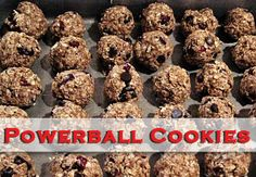 My Vacation Menu Plan: Make-Ahead Meals To Go - Thriving Home Healthy Cookie Recipes, Healthy Cookies, Healthy Treats, Real Food Recipes, Snack Recipes, Cooking Recipes, Yummy Food, Yummy Cookies, Yummy Yummy