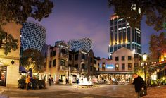 Xintiandi, a mixed-use development district in Shanghai