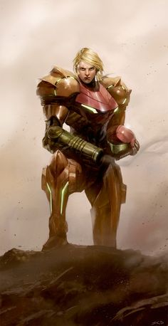 Illustration by Samuel Deats. Samus is one of my all time favorite characters