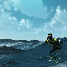 Would you know what to do if you are stranded in open water after a dive? Here are five tips that just might save your life.