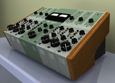 BE-62 Analogue Tube Mixer. Gorgeous!