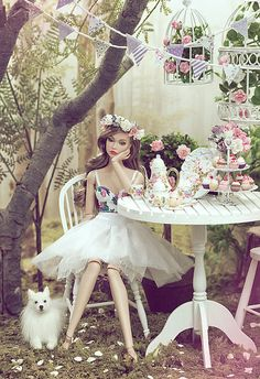 Spring Wonderland | Model: Poppy Parker Spicy in Spain | Elle & Emma | Flickr