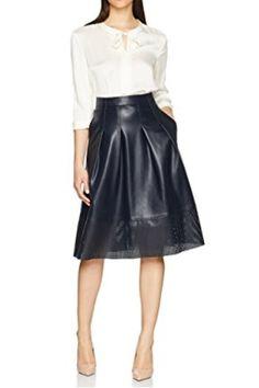 Falda Cuero Boss #Amazonmoda #Modamujer #Moda2017/2018 #Falda #Outfit #fashion #Shopping #Cuero