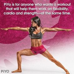What is PiYo?  Chalene Johnson's New Workout Coming Soon… Click HERE to reserve your spot on the FIRST PiYo Test Group!  --> https://julielittle.wufoo.com/forms/z1bn6ys7086rnbz/ For detailed information on the program click HERE -->  http://www.healthyfitfocused.com/2014/05/what-is-piyo-chalene-johnsons-new.html