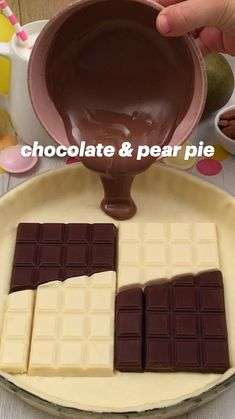 Pie Recipes, Sweet Recipes, Dessert Recipes, Cooking Recipes, Pear Pie, Sorbets, Starbucks Recipes, How Sweet Eats, Cake Creations
