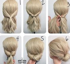 Even easier bridesmaid hair style