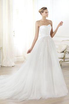2014 New Arrival Wedding Dresses Sweetheart Princess Beaded Bodice