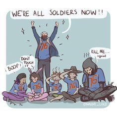 Talon and overwatch are soldiers