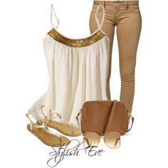 beige+white