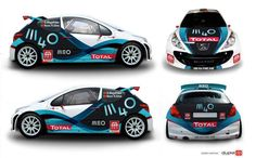 Peugeout Rally Livery