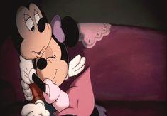 Gif Mickey e Minnie Disney And Dreamworks, Disney Pixar, Walt Disney, Disney Characters, Disney Memes, Laura Lee, Gif Animé, Animated Gif, Cuddling Positions