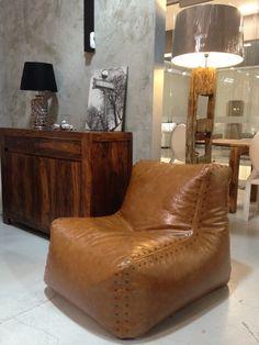 Bean Bag Chairs / Bag Chair Aviator / Bean Bag By HomeAtmosphere