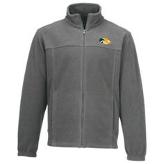 Bass Pro Shops Logo Fleece Jacket for Men - Charcoal - M