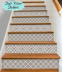 Charming Trap Riser Vinyl Stroken 15 Stappen Verwisselbare Sticker Peel U0026 Stick:  M300 | Huis | Pinterest | DIY Furniture, Staircases And House Pictures
