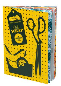 Image of Mini Moderns Gift Wrap Book