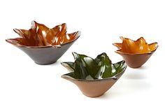 Maple Leaf Trays, Asst. of 3 on OneKingsLane.com