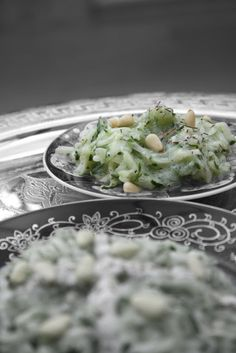 Dinners & Dreams » Cucumber Slaw with Thyme Yogurt Dressing