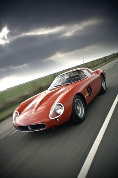 1964 Ferrari 250 GTO | Series 2 Tipo 64 or GTO 64 | Gran Turismo Omologato | Grand Touring Homologated | Sports Coupe Series 2 Type 64 | Forghieri | Tipo168/62 3.0L V12 300hp | Top Speed 280 kph 174 mph The GTOs were racing car produced by Ferrari between 1962 to 1964 for the Group 3 Grand Touring Car category | A total of 39 car were produced in 3 different Types | Proto | 33 Series 1 | 3 Series 2 | 3 330 GTO The 250 GTOs won their class in the FIA's International Championship for GT…