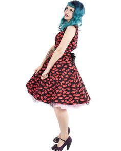 9156ca99c924 Hearts and Roses | Sweet Kisses Dress - Tragic Beautiful buy online from  Australia Circle Skirt