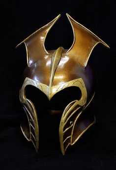 How to make an elven helmet (the hobbit - woodland realm elves) http://www.impactcustoms.com/1/post/2013/04/mirkwood-elven-helmet-the-hobbit.html