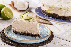 Cheesecake vegano de Limão com coco