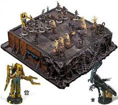 alien chess set