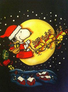 ★ Snoopy the Beagle Peanuts Christmas, Charlie Brown Christmas, Merry Christmas To All, Noel Christmas, Vintage Christmas, Christmas Crafts, Funny Christmas, Merry Xmas, White Christmas