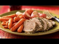 Pork Tenderloin Studded with Rosemary and Garlic Recipe