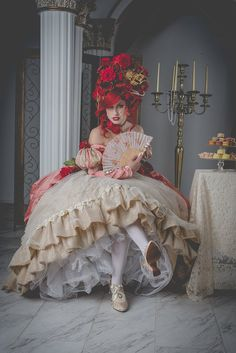 Items similar to Rococo Ariel Photo Print (Traci Hines) on Etsy 18th Century Dress, 18th Century Fashion, Next Disney Princess, Baroque, Rococo Dress, Little Girl Lost, Chesire Cat, Rococo Fashion, High Fashion
