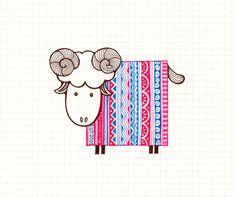 Behance :Sheep Character Design by Ong Siew Guet