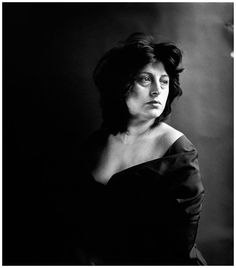 Anna Magnani. NYC April 17, 1953 | Photographer Richard Avedon
