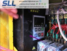 frequency changer for wall render machine
