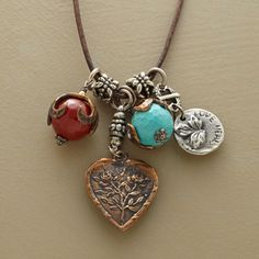 Love charm necklace...