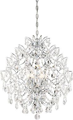 Minka Lavery IsabellaS Crown - Eight Light Chandelier - Chandelier Lighting - Crystal - Traditional Lights