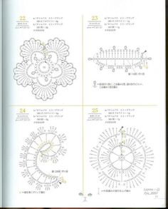 Mini Motif Crochet pattern - wang691566169 - Álbumes web de Picasa