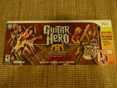#GuitarHero: #Aerosmith #BUNDLE ( #NintendoWii 2008) GAME Les Paul Wireless MINT  http://r.ebay.com/l3hRmW @eBay #makeanoffer #wiigames #wiiu